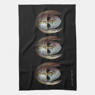 戦士のマスク キッチンタオル