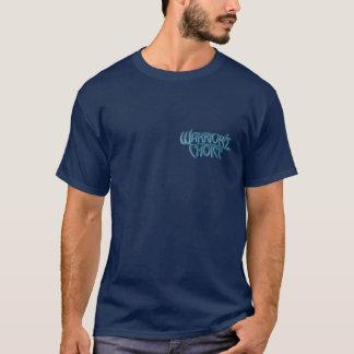 戦士の上等の紋章の暗闇のTシャツ Tシャツ