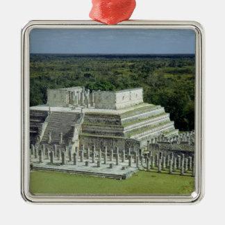 戦士の寺院の眺めは150広告を掲示します メタルオーナメント