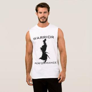 戦士の性能のeddition 袖なしシャツ