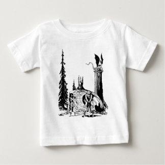 戦士の生まれる~ ベビーTシャツ
