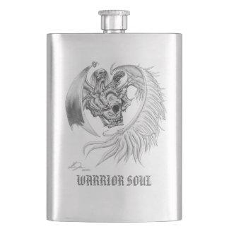 戦士の精神のフラスコ(ステンレス製の輝やき) フラスク