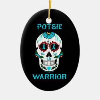戦士または砂糖のスカル… P.O.T.S. セラミックオーナメント