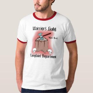 戦士ギルド、不平… -カスタマイズ Tシャツ