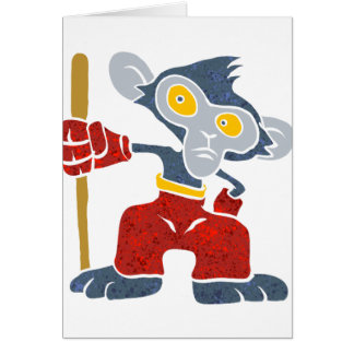 戦士猿。 カード