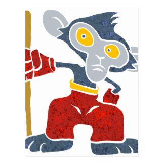 戦士猿。 ポストカード