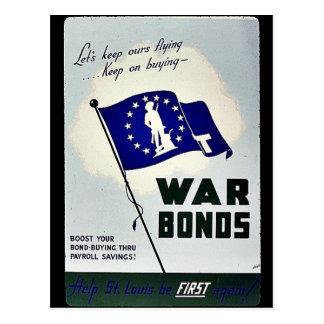戦時公債 ポストカード