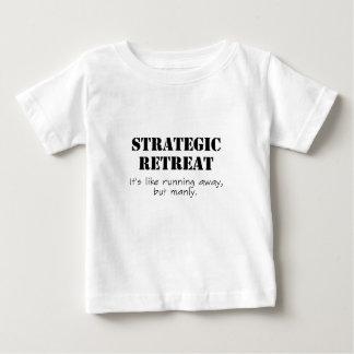 戦略的な退去 ベビーTシャツ