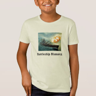 戦艦のビスマルクワイシャツ Tシャツ