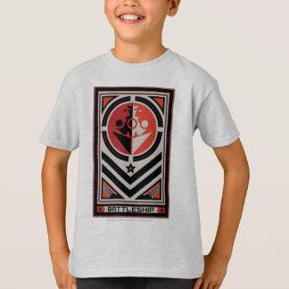 戦艦のプロパガンダ Tシャツ