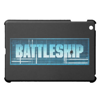 戦艦のロゴ iPad MINIケース