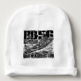 戦艦のワシントン州のベビーの帽子 ベビービーニー