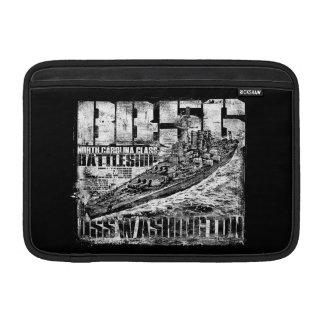 戦艦のワシントン州MacBookの空気袖 MacBook スリーブ