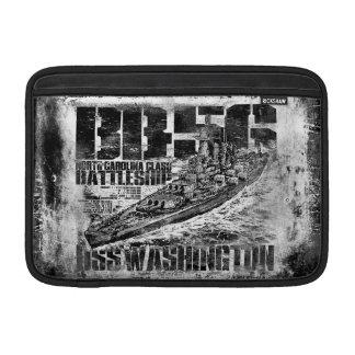戦艦のワシントン州MacBookの袖 MacBook スリーブ