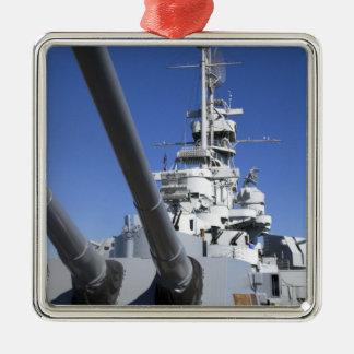 戦艦の記念物のUSSアラバマの戦艦 メタルオーナメント