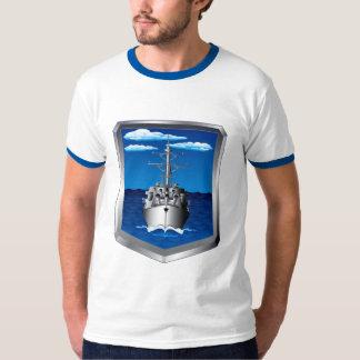戦艦の青 Tシャツ