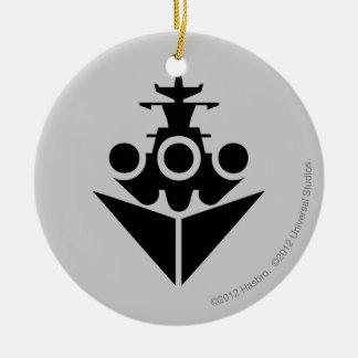 戦艦アイコン セラミックオーナメント