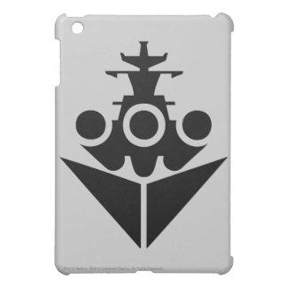 戦艦アイコン iPad MINIケース