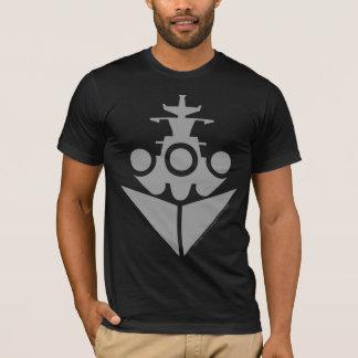 戦艦アイコン Tシャツ