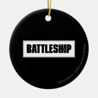 戦艦ライト セラミックオーナメント