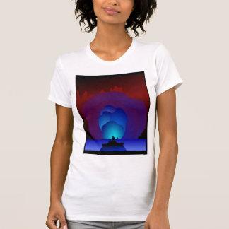 戦艦日没のTシャツ Tシャツ