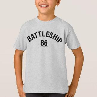 戦艦B6のロゴ Tシャツ