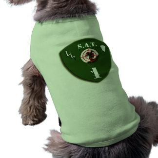 戦術的なリスのチーム犬のワイシャツ ペット服