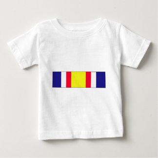 戦闘サービス記念するリボン ベビーTシャツ