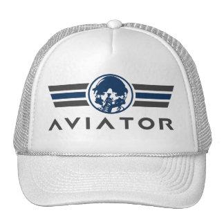 戦闘機のパイロットのヘルメットおよびマスク トラッカーハット