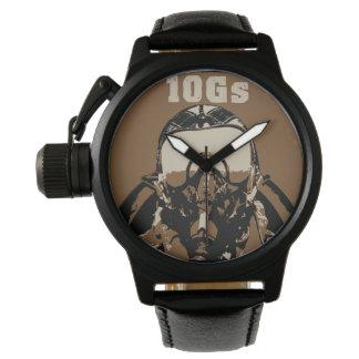 戦闘機のパイロットの腕時計 腕時計