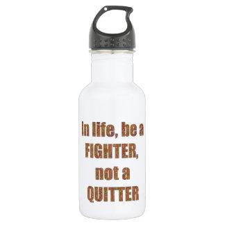 戦闘機の憶病者の引用文の知恵のテンプレートの休日 ウォーターボトル