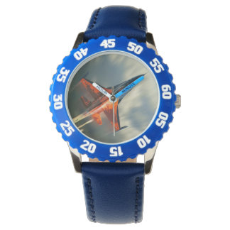 戦闘機の軍の飛行機の速度 腕時計