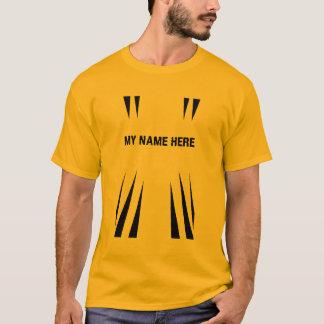 戦闘機平均ジョーの大きいTシャツ Tシャツ