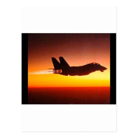 戦闘機 ポストカード