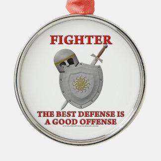 戦闘機: 最も最高のな防衛 メタルオーナメント