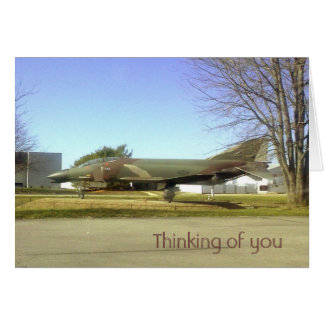 戦闘機(F4幻影)のThinking_of_youカード カード
