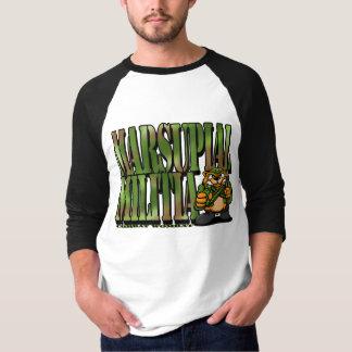 戦闘Wombat 3: Marsupial在郷軍 Tシャツ