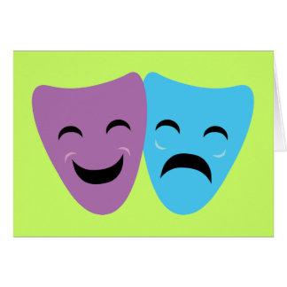 戯曲マスク カード