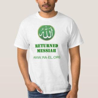 戻る救世主アブラハムのデザインのTシャツ Tシャツ