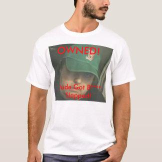 所有されるery8op! 、強く打たれる男によって得られるBの****! Tシャツ