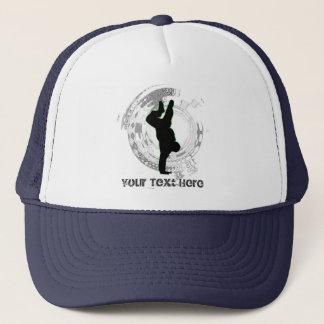 所有します文字のダンスの帽子を加えて下さい キャップ