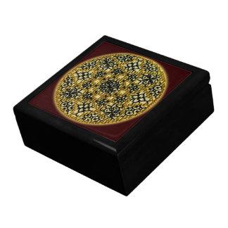 手によって刺繍される宝石箱 ギフトボックス