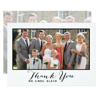 手によって文字を入れられる原稿 の結婚の写真は感謝していしています 12.7 X 17.8 インビテーションカード