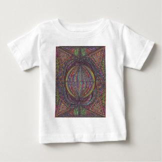 手によって編まれるデザイン ベビーTシャツ