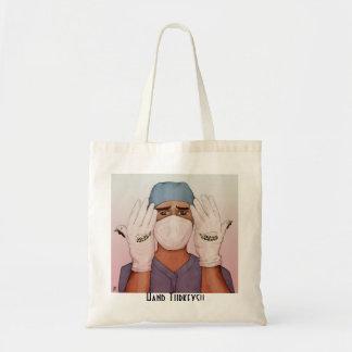 手のトルコのトートBage-外科医 トートバッグ
