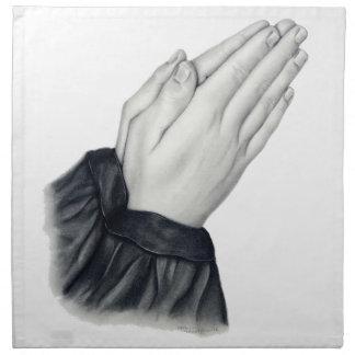 手のナプキンを祈ること ナプキンクロス