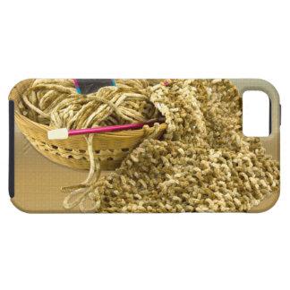 手のニットのシュニールヤーン iPhone SE/5/5s ケース