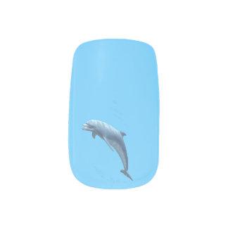 手のネイルのイルカ1頭あたりのデザインを選抜して下さい ネイルデコレーション