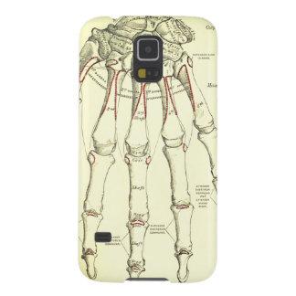 手のヴィンテージの解剖学|の骨 GALAXY S5 ケース