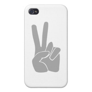 手の印の勝利 iPhone 4/4Sケース